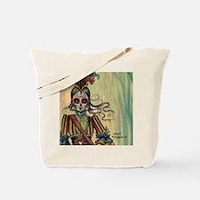 Victorian Drummer Girl messenger bag Tote Bag