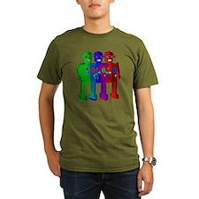 RGB Bots Robot Trio T-Shirt