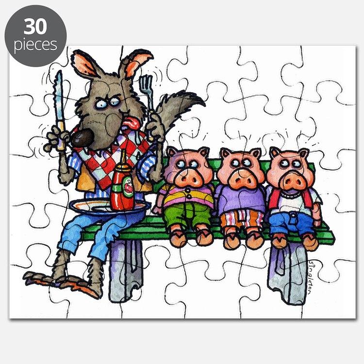 THREE LITTLE PIGS Puzzle