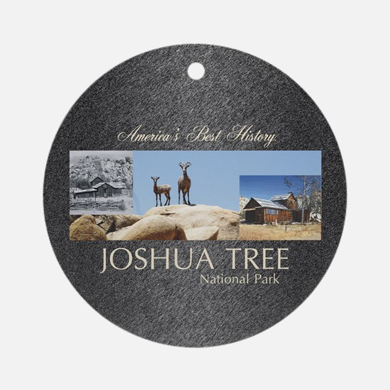 ABH Joshua Tree Round Ornament