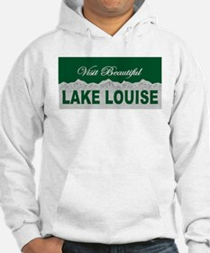 Visit Beautiful Lake Louise, Hoodie