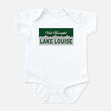 Visit Beautiful Lake Louise, Infant Bodysuit