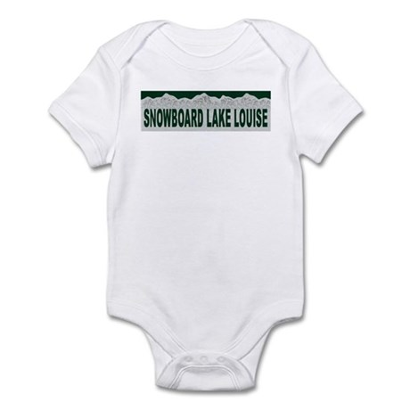 Snowboard Lake Louise, Albert Infant Bodysuit