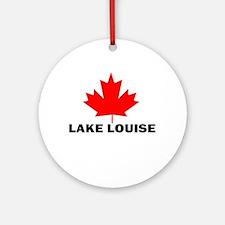 Lake Louise, Alberta Ornament (Round)