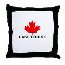 Lake Louise, Alberta Throw Pillow