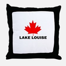 Lake Louise, Alberta Throw Pillow