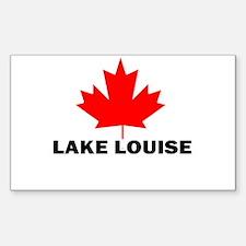 Lake Louise, Alberta Rectangle Bumper Stickers