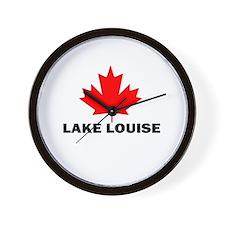 Lake Louise, Alberta Wall Clock