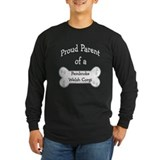 Corgi long sleeve t-shirts Long Sleeve T-shirts (Dark)