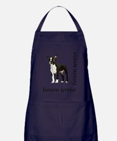 Boston Terrier Apron (dark)