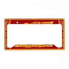 venetian flag rug License Plate Holder