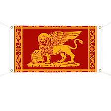venetian flag rug Banner