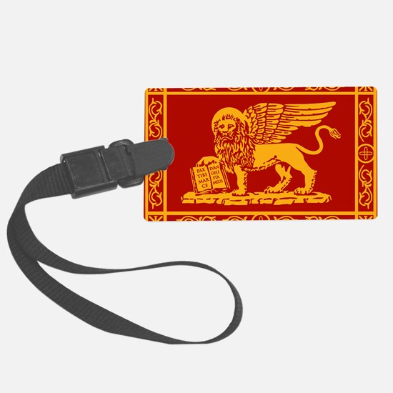 venetian flag rug Luggage Tag
