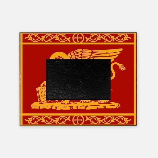 venetian flag rug Picture Frame