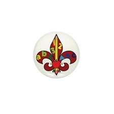 Fleur De Teacher Mini Button