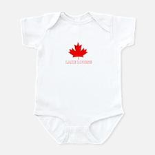 Lake Louise, Alberta Infant Bodysuit