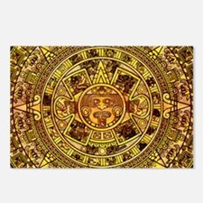 Aztec Calendar Postcards (Package of 8)