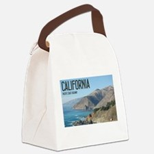 California Pacific Coast Highway Canvas Lunch Bag