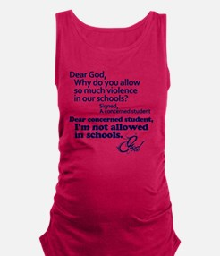 Dear God Maternity Tank Top