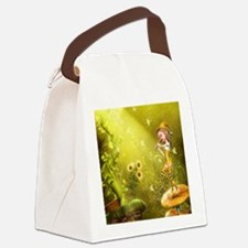 tf_round_coaster Canvas Lunch Bag