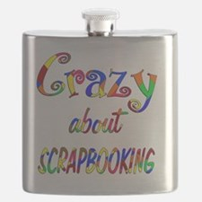 Crazy About Scrapbooking Flask