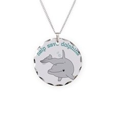 Help Save Dolphins Necklace