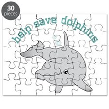Help Save Dolphins Puzzle