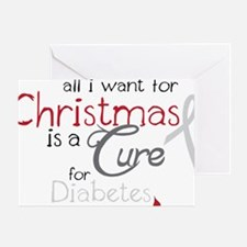 Cure For Diabetes Greeting Card