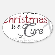 Cure For Diabetes Decal