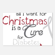 Cure For Diabetes Postcards (Package of 8)