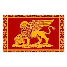 venice flag rug Decal