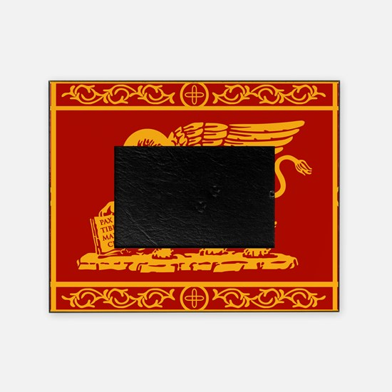venice flag rug Picture Frame