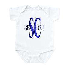 Beaufort South Carolina Infant Bodysuit