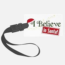 Believe In Santa Luggage Tag