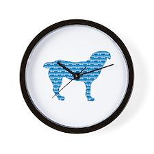 Bone Entlebucher Wall Clock