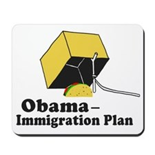 Obama Immigration Plan Mousepad