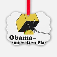 Obama Immigration Plan Ornament