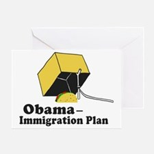 Obama Immigration Plan Greeting Card