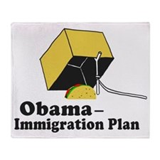 Obama Immigration Plan Throw Blanket