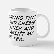I'm just saying that romance and c Mug