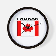 London, Ontario Wall Clock