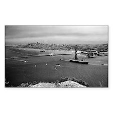 USS Nimitz - Golden Gate Bridg Decal