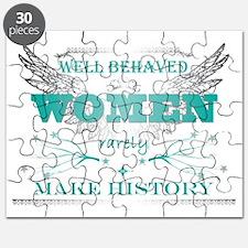 WellBehavedWomen_TURQ Puzzle