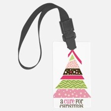 Cure For Christmas Luggage Tag