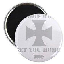 Chrome Wont Get You Home - Maltese cross Magnet