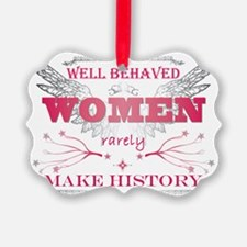 Well Behaved Woman_Pink Ornament