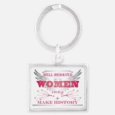Well Behaved Woman_Pink Landscape Keychain
