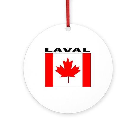 Laval, Quebec Ornament (Round)