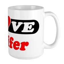 I Love Jenifer Mug
