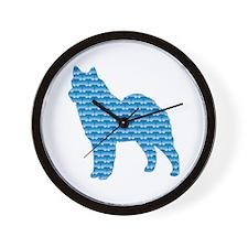 Bone Lapphund Wall Clock